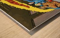 Marvel Superheroes: Stan Lee's Super Supper with Avengers, Fantastic Four, X-Men, Spider-Man & More Wood print