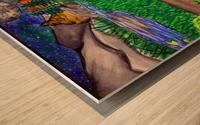 ProudWolf Wood print