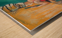 Hamam Wood print