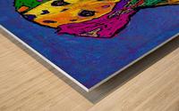 RAINBOW DALMATION  Wood print