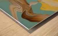 SUN BUBBLE Wood print