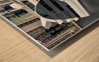 Cruise ship - Super Panoramic Wood print