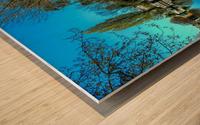 River and Boats - London  Wood print