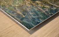 Lake Crystal Wood print