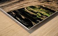 Strength Beneath Wood print