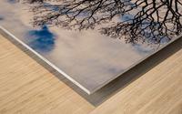 Clear skys Wood print
