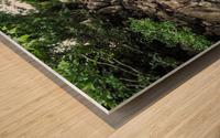Enchanted Walkway Wood print