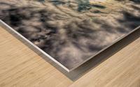 Sky City Wood print