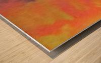 SPLASH DOT Wood print