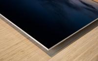 Blue Cloud - Nuage Bleu Wood print