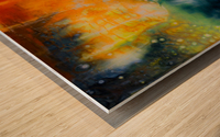 Expansion Wood print