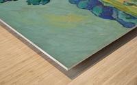 Two Poplars Wood print