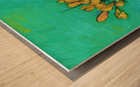 Crocuses Wood print