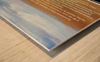 NonExistence Wood print