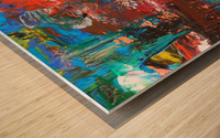 COLOR Wood print