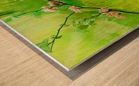 Green Spring Wood print
