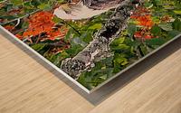 AutumnEagle Wood print