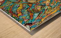 purece Wood print