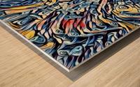 sertentain  Wood print