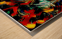 tocirondo Wood print