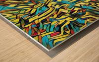 camofep Wood print