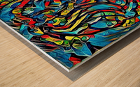 brarm Wood print