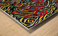 iacodek Wood print