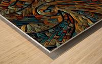 rivederle Wood print