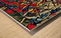 trison Wood print