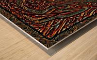 turrel  Wood print