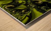 The Tender Matter Wood print