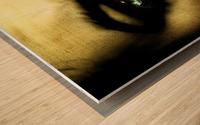 A (1) Wood print
