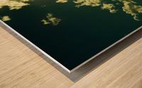 E (3) Impression sur bois