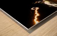 E (6) Wood print
