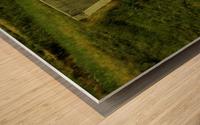 H (3) Wood print