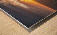 Glorious Light Wood print