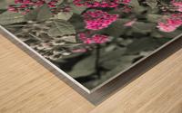 Collection Vinyasa .3  Impression sur bois