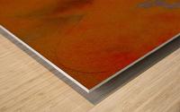 DESERT TRAIN Wood print