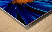 Beautiful Blue Flower_OSG Wood print