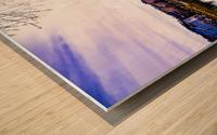 Nostalgie en couleur  Wood print