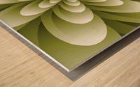 Greeny Feel Wood print