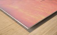 Sunset Sailboat Wood print