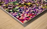 Coalesce Wood print