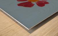 Red Flower 2 Wood print