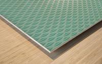 Green Diamond Art Wood print