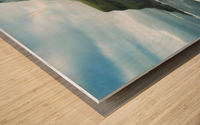 Múlafossur Waterfall Wood print