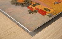 Farmhouse in Provence by Van Gogh Wood print