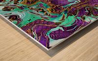 Pattern LXXVIII Wood print