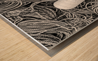 Rope & Buoys - APC-297 Wood print