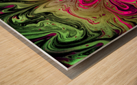 Bubbles Reimagined 76 Wood print